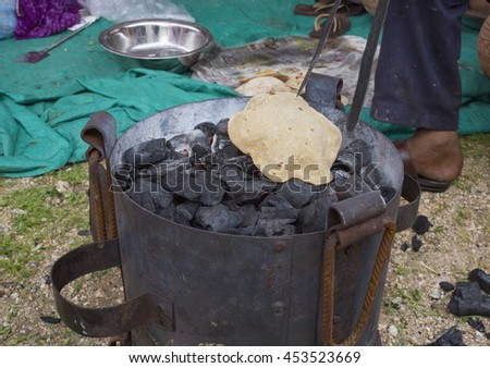 Cooking Chapati