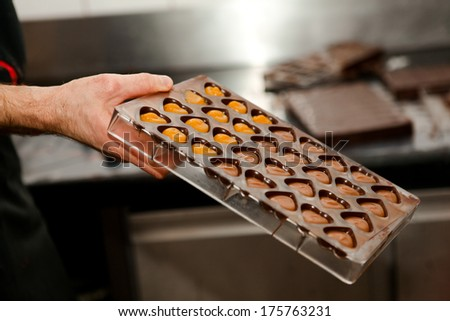 cooking homemade sweets - stock photo