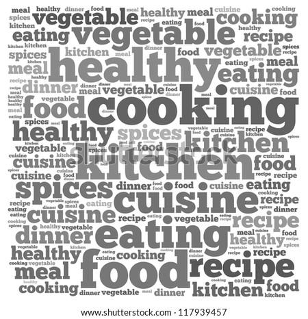cooking infotext graphics arrangement concept on stock illustration