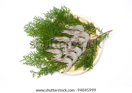 Cooking ingredient series    shiba shrimp. available for clipping work