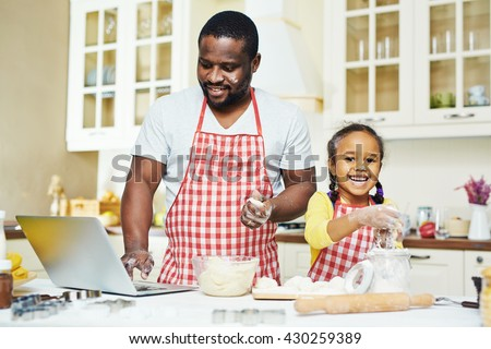Cooking pastry - stock photo