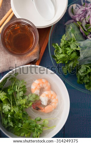 Cooking that uses a lot of coriander