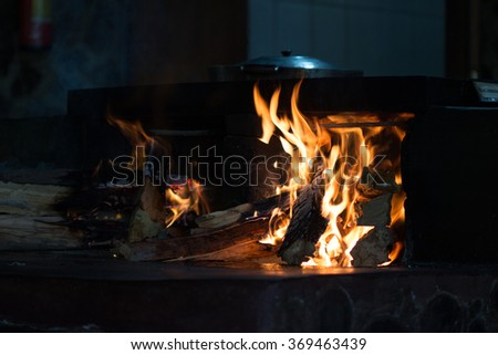 Cooking The beauty of the fire