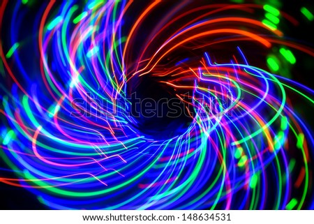 cool abstract light pattern  - stock photo