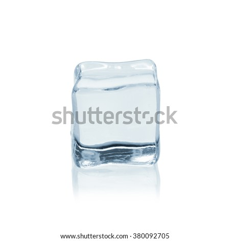 Cool as ice - stock photo