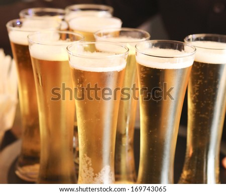 Cool beer - stock photo
