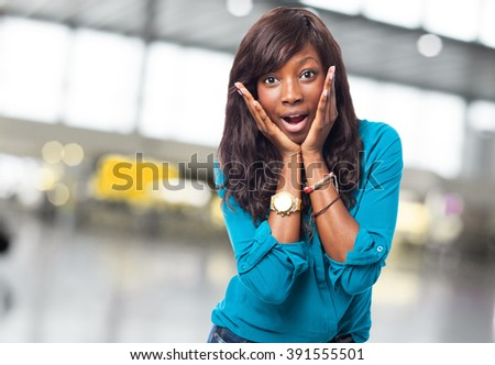 cool black woman smiling
