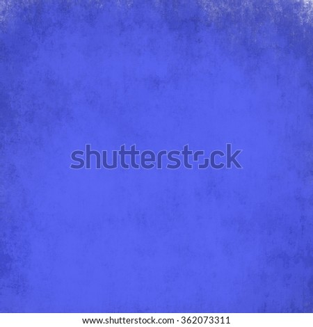 cool blue background black border or frame, smooth bright center texture and dark vignette edge, abstract blue paper brochure or website backdrop, elegant sapphire or midnight blue graphic art image - stock photo