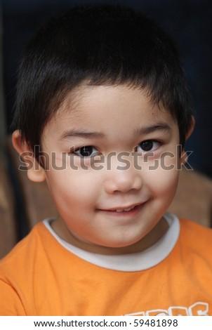 cool boy - stock photo