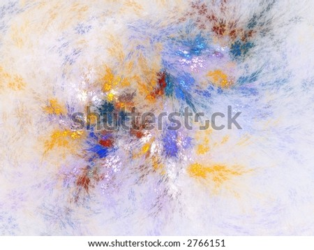 Cool Colors - stock photo