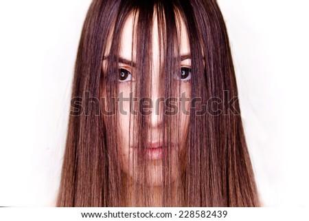 Cool hair - stock photo