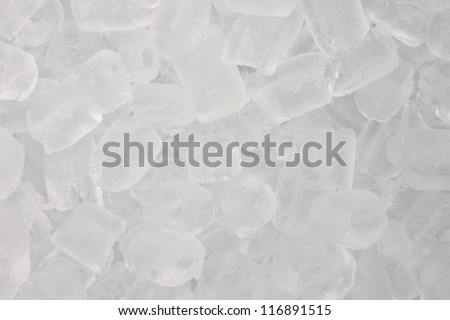 cool ice used for background - stock photo