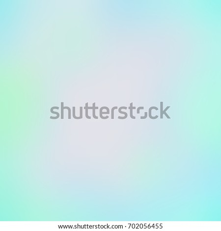 Cool Mint Freshness   Blurred Abstract Background. Turquoise Smoke Light  Watercolor Texture. Delicate Blue