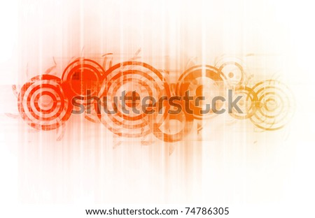 Cool Party Abstract Background as a Art - stock photo