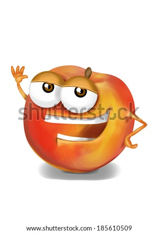 Funny Peach Stock Images, R...