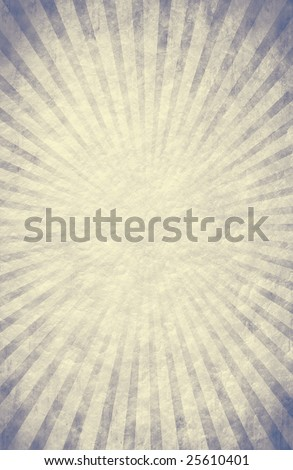 Cool-toned burst on parchment texture - stock photo