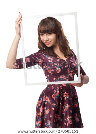 cool young-woman black-frame