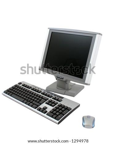 Coomputer - stock photo
