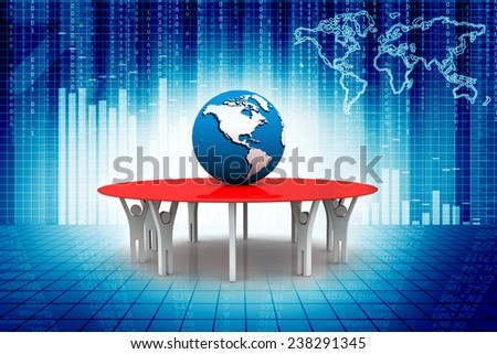 Cooperation - stock photo