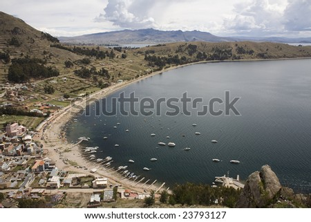 Copacabana is the main Bolivian town on Lake Titicaca, from where boats leave for Isla del Sol, the sacred Inca island.