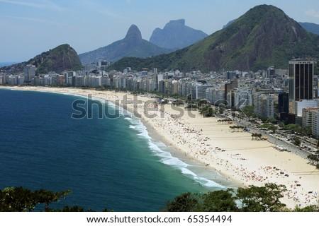 Copacabana, Rio de Janeiro - stock photo