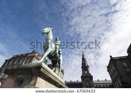 Copenhagen - Christiansborg Palace - stock photo