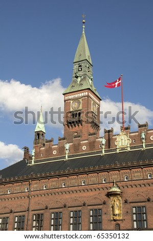 Copenhagen city Hall,Radhus
