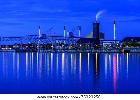 Copenhagen Denmark architecture long exposure nightscape seascape