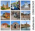 Copenhagen, Denmark. Collage - stock photo