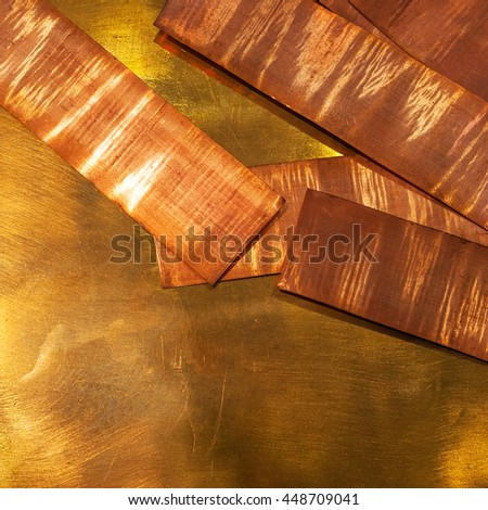 Copper - stock photo