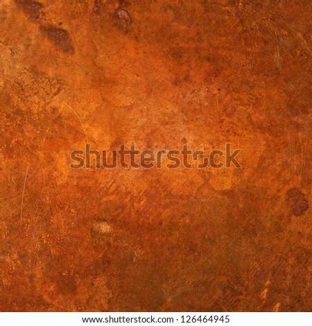 Copper background - stock photo