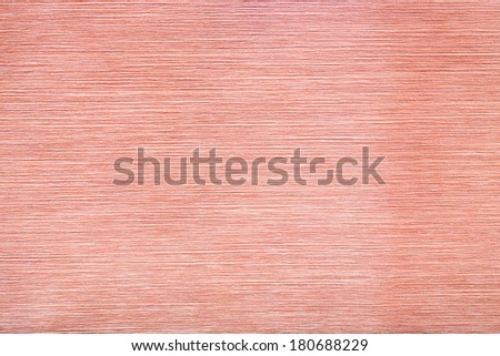 Copper brushed metal texture background. - stock photo