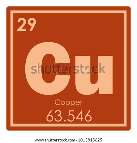 Stock images royalty free images vectors shutterstock copper chemical element periodic table science symbol urtaz Image collections