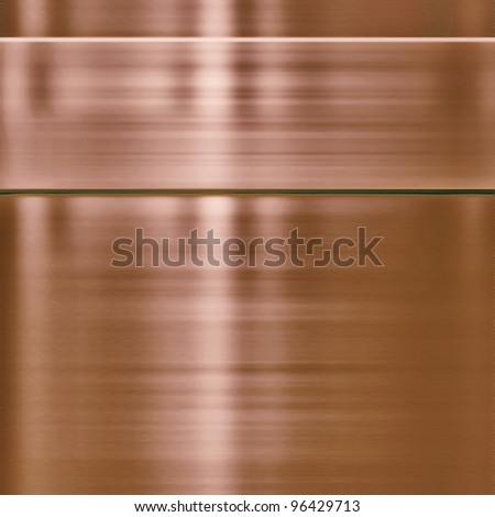 copper metal background texture - stock photo