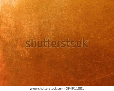 copper surface background - stock photo