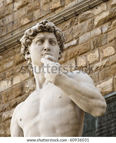Copy Michelangelo's sculpture of David in Florence, Italy