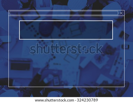 Copy Space Blank Idea Creativity Frame Free Gap Concept - stock photo