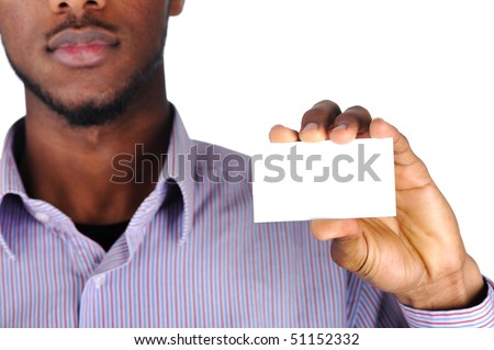 Copy-space card for you - stock photo