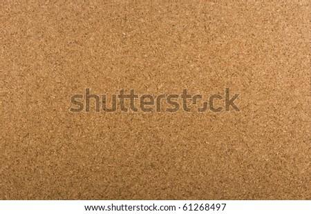 Copy space cork Bulletin Board background - stock photo