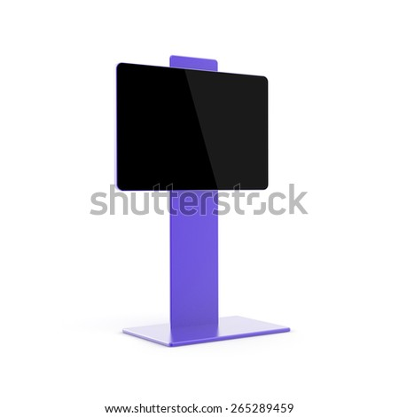 Copy space display, 3d render. - stock photo