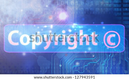 Copyright Full collection - stock photo