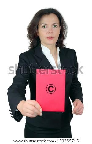 copyright infringement - stock photo