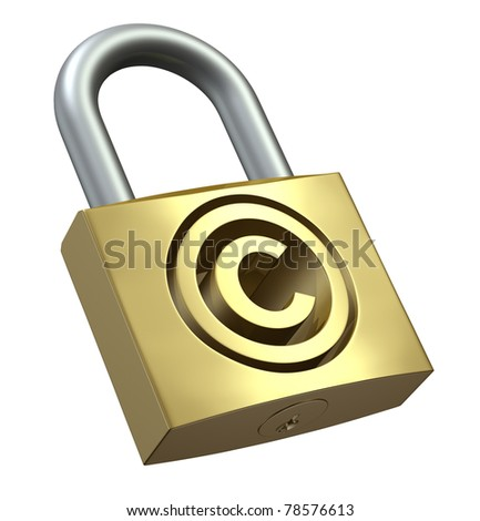 Copyright Protection - stock photo