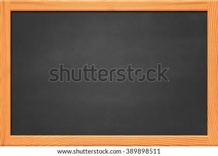 Copyspace Chalkboard Background - stock photo