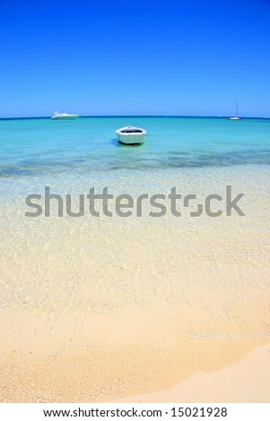 Coral Bay beach, Western Australia - stock photo