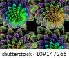 Coral carpet - stock photo