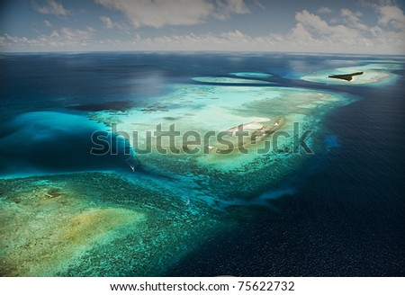 Coral Reef Atolls