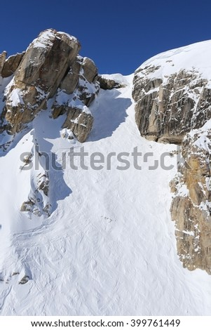 Corbet's Couloir, Jackson, Wyoming