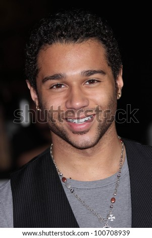 "Corbin Bleu at the ""John Carter"" Los Angeles Premiere, Regal Cinemas, Los Angeles, CA 02-22-12 - stock photo"