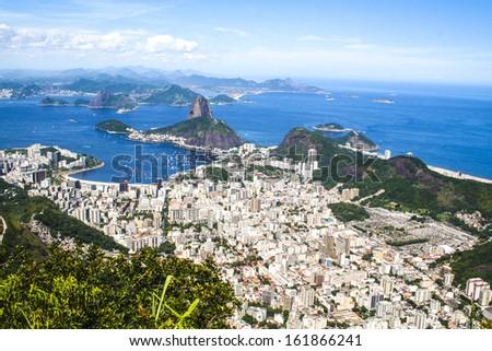 Corcovado Rio de Janeiro Brazil - stock photo